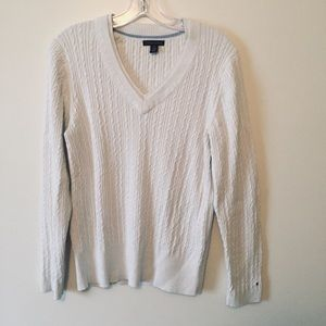 Tommy Hilfiger double v-neck sweater